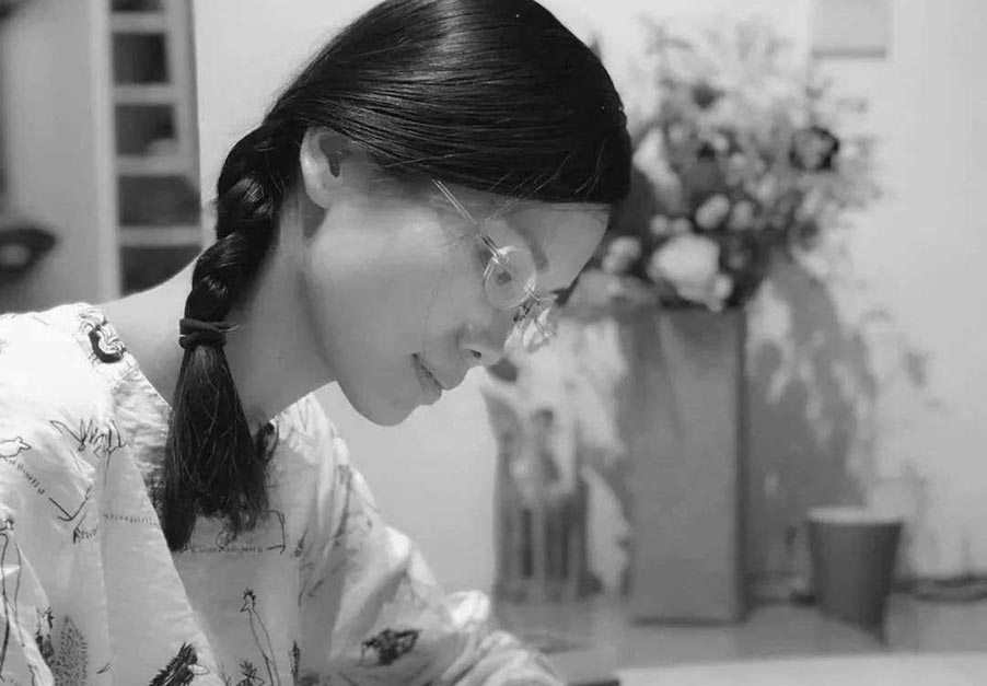 Chen Xiaofeng - Printing with Water