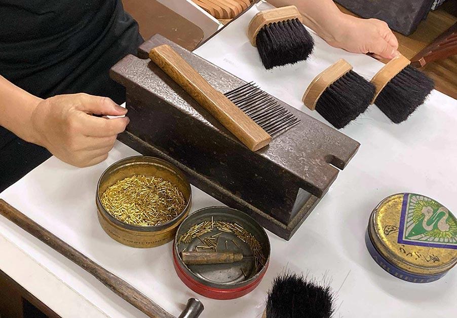 The Miyagawa (Hake) Brush Shop - A Traditional Brushmaker in Asakusa